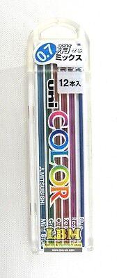 Uni Color 0.7mm Assorted Coloured Automatic Pencil Leads