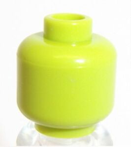 Lego Green Plain Head x 1 for Minifigure