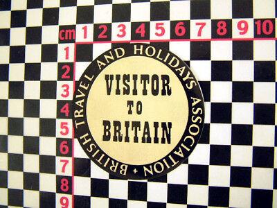 Visitatore per la Gran Bretagna Classico Adesivo Jensen Healey Jaguar