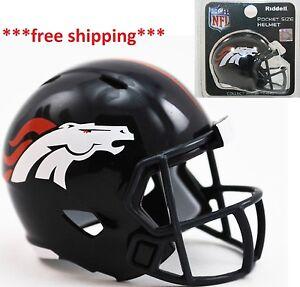 Cleveland Browns NFL Riddell Speed Pocket PRO Micro//Pocket-Size//Mini Football Helmet