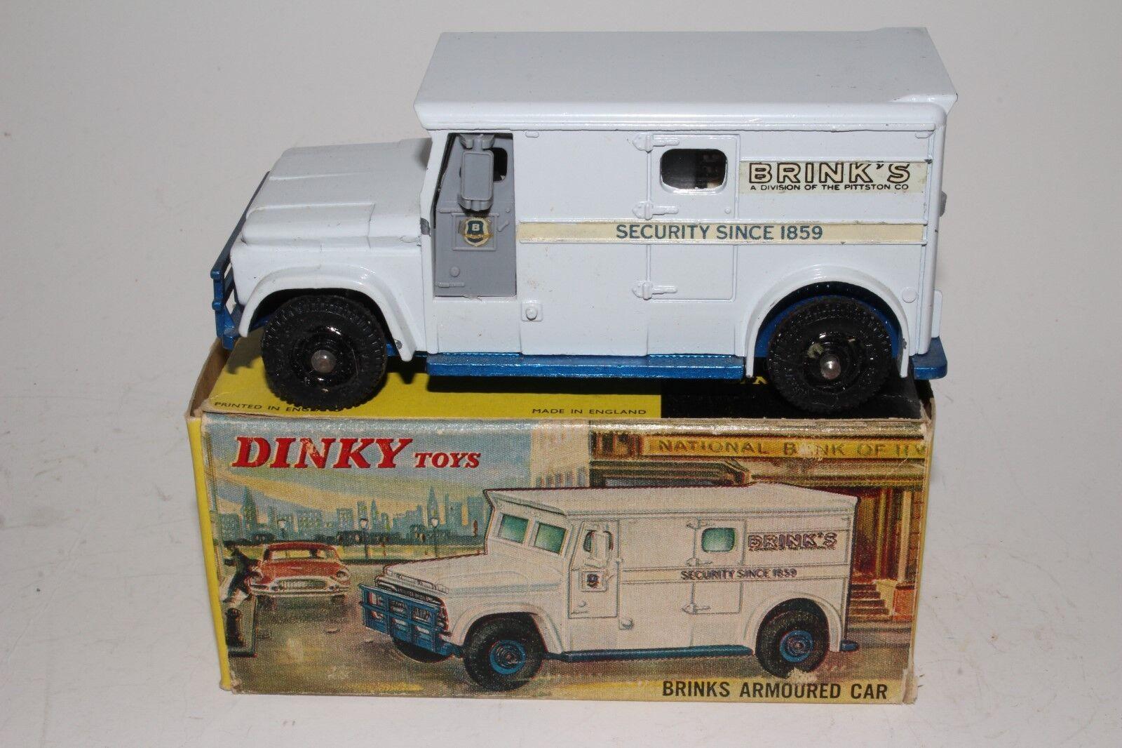 597ms Dinky 254 GMC Brinks Armado Camión con Caja, 2