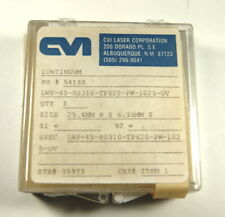 Cvi 1 Dia Lwp Long Wave Pass Filter Uv R 310nm And Lower T 620nm On