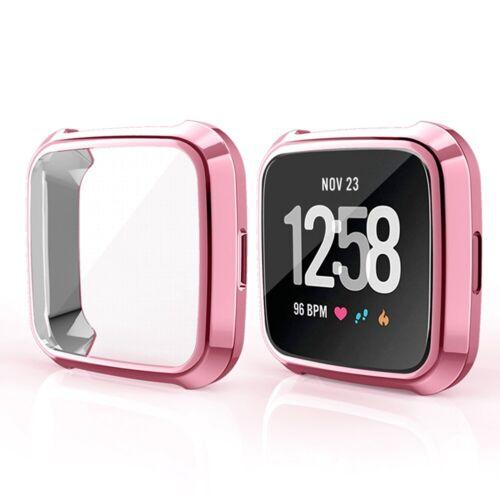 Für Fitbit Versa Band Fitness Slim Designer Hülle Überzug Schutzhülle #wsh ogzlx