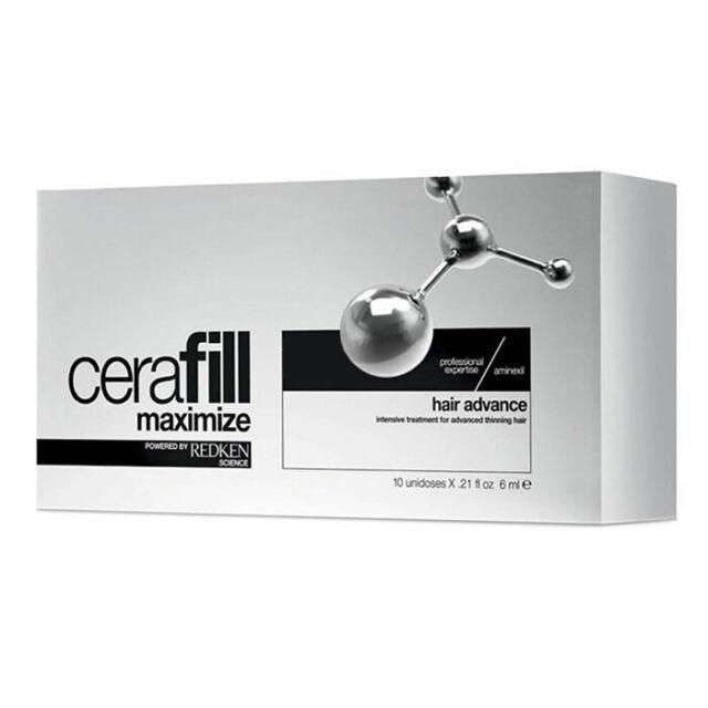 Redken Ristrutturante per Capelli in Fiale da 6 ml Anticaduta Cerafill Maximize