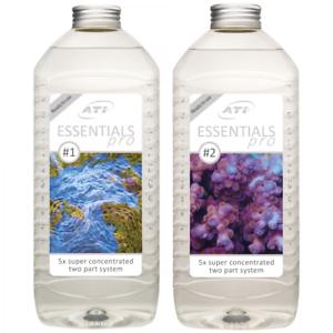 Ati Essentials Pro 2x 2l Aquarium Marine Méthode de dosage des aquariums de récifs Triton