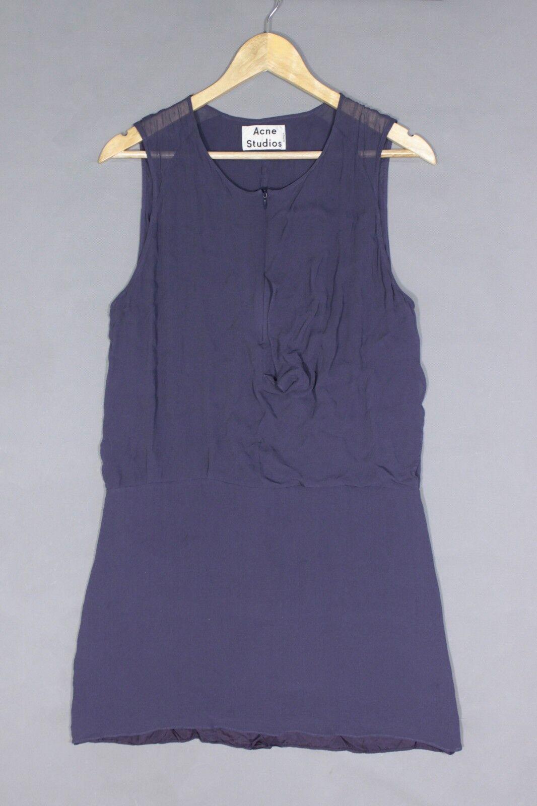 2926ff5ec6f Acne Studios Twist LT 100% Dress Silk nzrmrv12684-Dresses - www ...