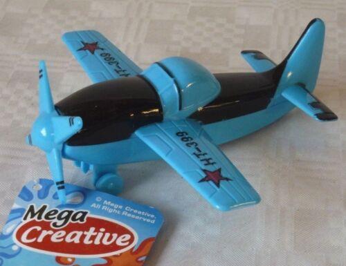Flugzeug Flieger blau Propeller Antrieb Spielzeug NEU Mega Creative HT-399 Hubschrauber