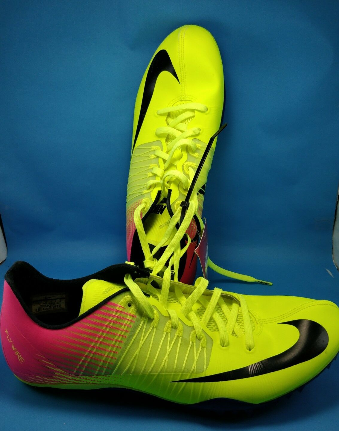 Nike - Men's - Flywire Racing Sprint - Zoom Celar - Yellow Pink