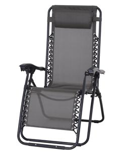 Poltrona Sedia Sdraio  Reclinabile Lettino Relax arredo esterno sedia