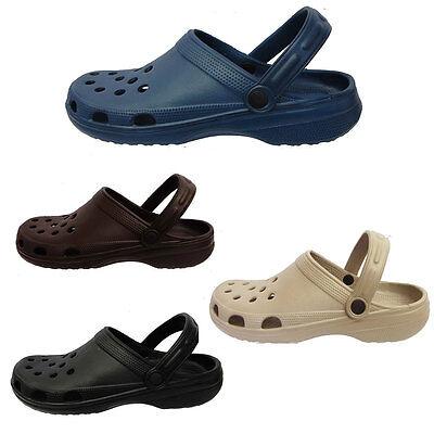 GroßZüGig Iam Mens / Womens Classic Beach Clogs Shower Mules Slip On Shoe Sandal Uk 7 - 11 Gute QualitäT