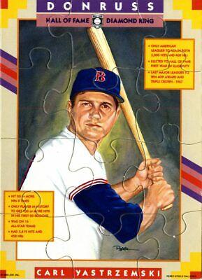 1990 Donruss Carl Yastrzemski Puzzle Baseball Cards Complete