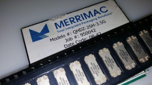 2x MERRIMAC QHDZ-2SH-3.5G RF SMT COUPLER 3.3-3.7 GHz  LOW LOSS  HIGH ISOLATION