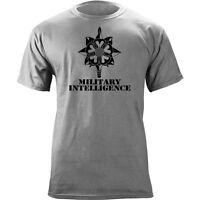 Us Army Military Intelligence Dagger Branch Insignia Veteran Graphic T-shirt