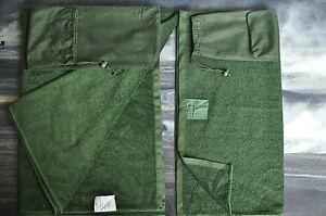 British-army-Micro-fleece-combat-towel-with-carry-bag-complet-1x-larg-1x-medium