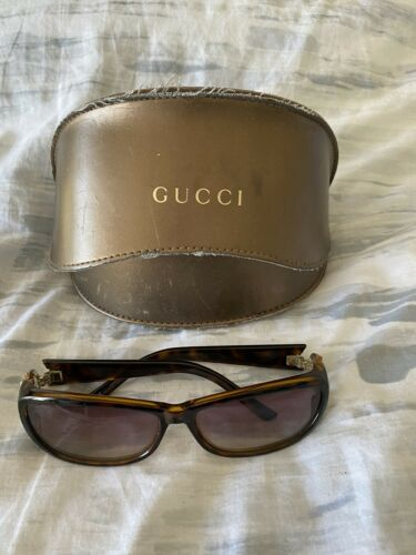 gucci rhinestone sunglasses