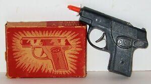 Vintage 1950s HUBLEY DICK Tracy 4 Die-Cast Toy Cap Gun