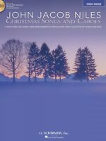 Christmas Songs And Carols High Voice Book Cd Pack Vocal Collection 050486739