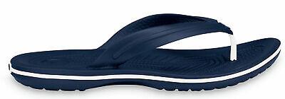 Crocs Crocband (tm) Flip Infradito Da Bagno Scarpe Navy-mostra Il Titolo Originale Forma Elegante
