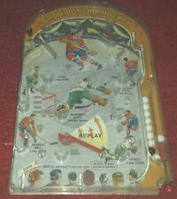 Marx Bagatelle Championship Table Top Hockey Game Plunger Pinball