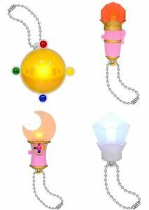 BANDAI Sailor Moon kawaii anime All 4set Gashapon mascot toys Complete set