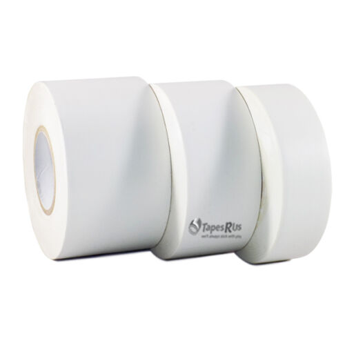"1.5"" x 108 ft 24 Rolls White Vinyl Pinstriping Tape 1.5 in. core LOW ADHESION"