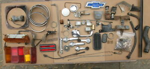 Junk Box Misc. Parts Lot For 1967 - 1971 Chevy C-10 Pickup, Blazer