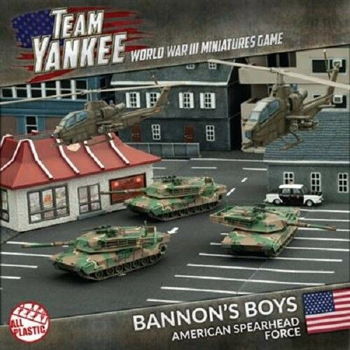 BANNON'S BOYS REVISED - TEAM YANKEE - SENT FIRST CLASS -