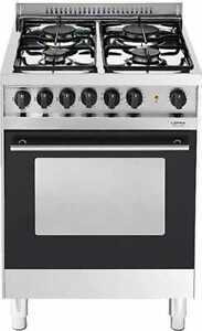 Dettagli su Lofra Cucina a Gas con Forno Elettrico Multifunzione 60x60 Inox  D66SMF Venezia