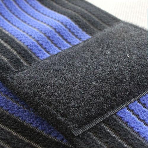Chevillère noire bleue