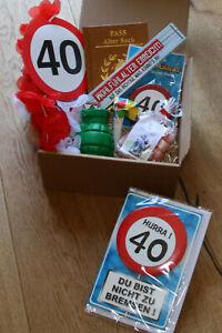 Geschenkideen zum 40 geburtstag