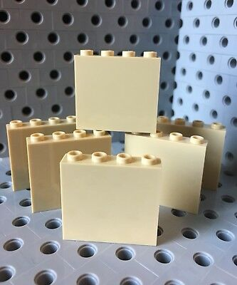 Lego Red 1x4x3 Wall Element Panel Building Lot Of 6 New