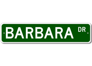 BARBARA-Street-Sign-Personalized-Last-Name-Sign