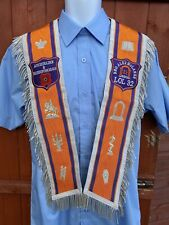 LOL Loyal Orange Lodge Arch Fully Embroidered Collarette Case