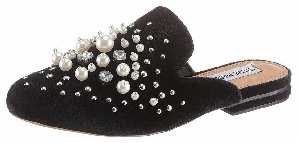 Steve Madden Clog, avec plus complexe Perles Ornement, taille 41
