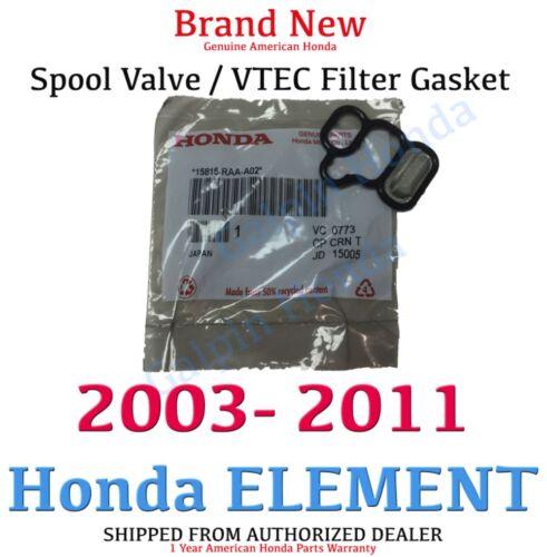 03-11 Honda ELEMENT OEM Solenoid Gasket  Spool Valve Filter Screen 15815-RAA-A02