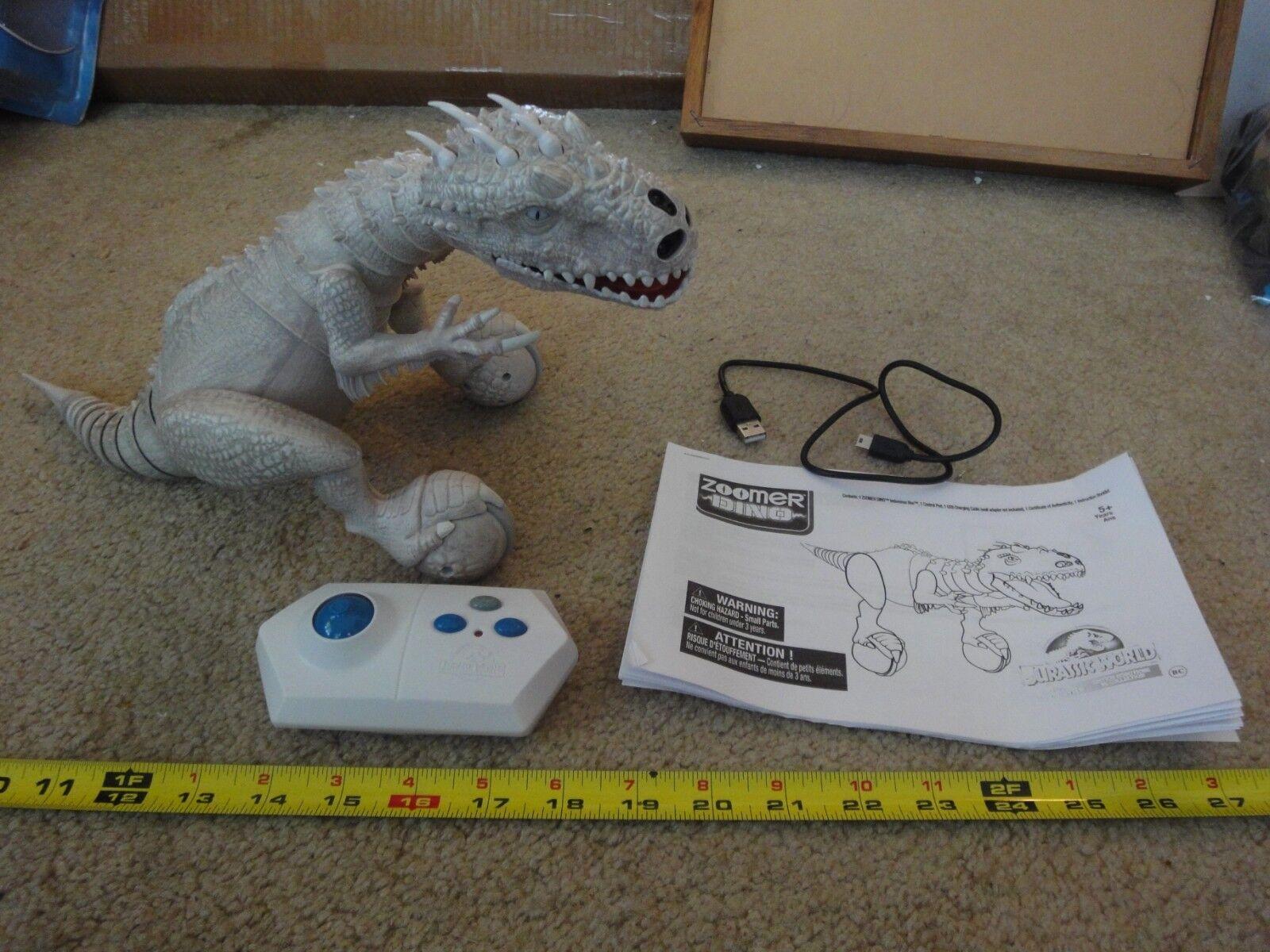 Jurassic park, welt, indominus rex funkgesteuerte dino zoomer, rc arbeitet