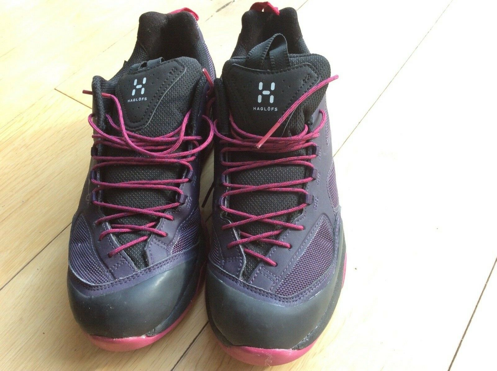 Haglof women's approach shoes rocker gt .5.5 .in acid berry .