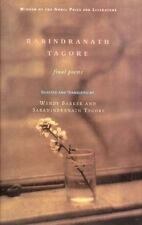 Rabindranath Tagore: Final Poems