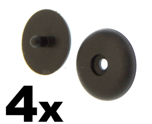 Fit Nissan Infiniti Holders Studs Retainer Stopper 4x Seat Belt Buckle Buttons