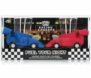 Racing Chasers Shot Game Drinking Glasses Party Mini Bar Adult Red / Blue Gift