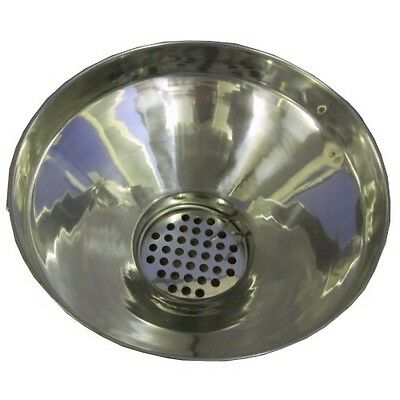 Stainless Steel Milk Strainer with Discs and Clip Free Pack of Filters
