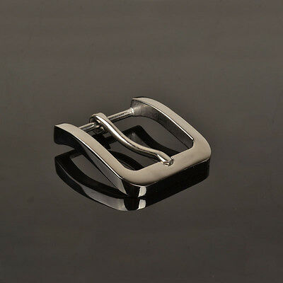Leather Craft Hardware 1-3/8''( 35mm) Pin Buckle Belt Buckle Brushed