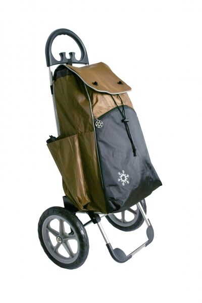 Shopping aider Confort marron Chariot Panier Shopping Trolley
