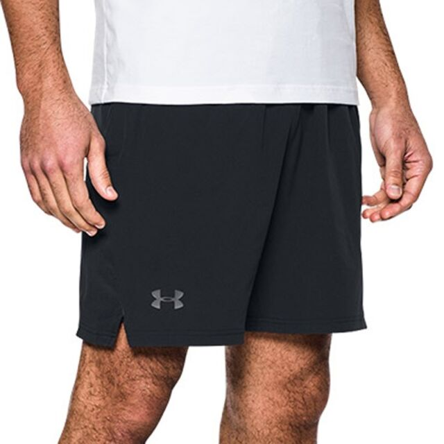 62c7a79847663 Under Armour Cage Shorts Black F001 L for sale online