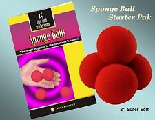 SPONGE BALL STARTER PAK - Magic Tricks!