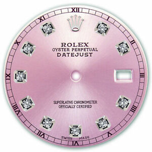 REFINED-MENS-SS-DATEJUST-PINK-DIAMOND-DIAL-RT-FOR-ROLEX-36