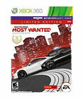 Need for Speed: Most Wanted -- Limited Edition (Microsoft Xbox 360, 2012)
