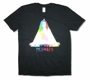 Katy Perry Prismatic Tour Mens Black T Shirt New Official ...