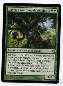 Doyen à couronne de feuilles - Leaf-Crowned Elder - Magic mtg-
