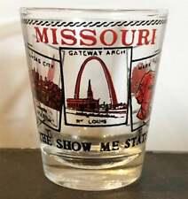 MISSOURI SHOW ME STATE  ELEMENTS SHOT GLASS SHOTGLASS